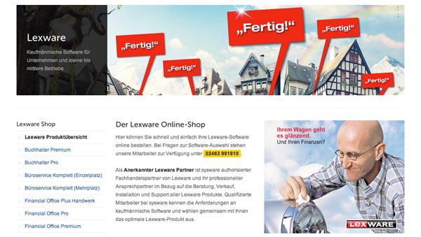 Lexware Online-Shop