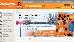 globetrotter-homepage
